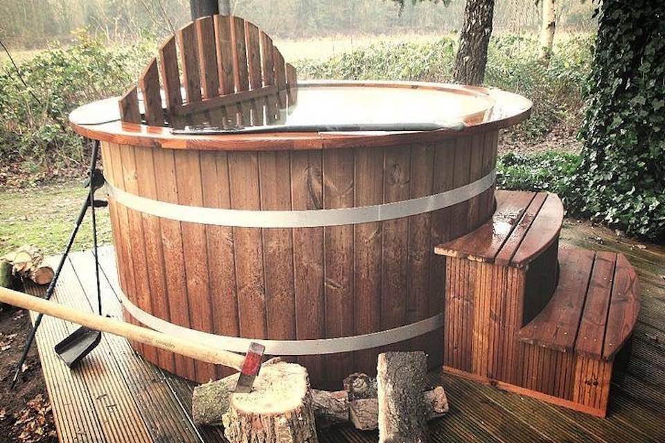 how to build a wood fired sauna at home